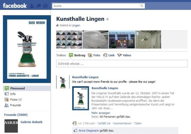 Kunsthalle Lingen Facebook