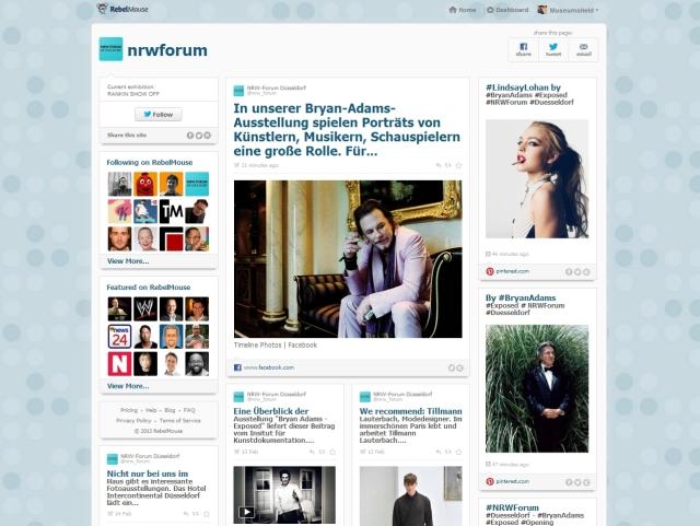 NRW-Forum Rebelmouse